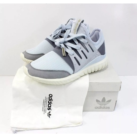 promo code 98c76 77a5e Women Adidas Mi Tubular Radial BA7379 Custom Shoes